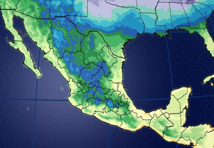 Prevén lluvias con intervalos en Quintana Roo. (Conagua)