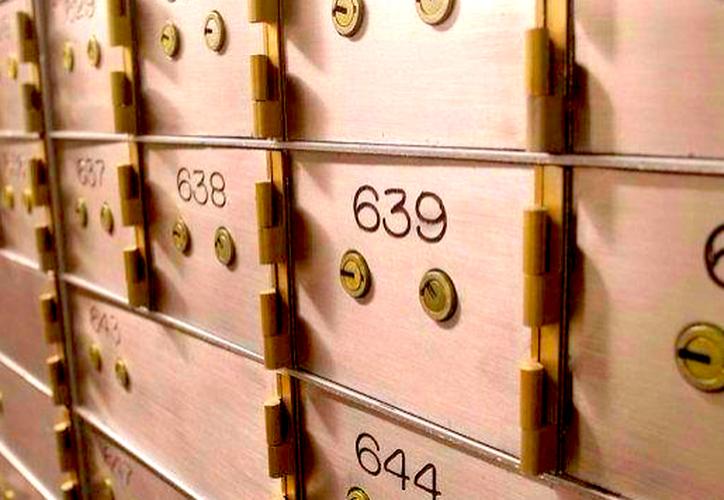El riesgo de las cajas de seguridad, de acuerdo a especialistas, es el ocultamiento de bienes ilícitos y el lavado de dinero. (Contexto/Internet).