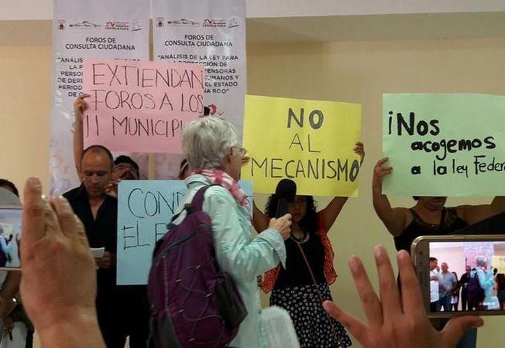 """El Colectivo de Periodistas de Quintana Roo se pronuncia en contra de la iniciativa presentada por Eugenia Solís, quien propuso reformar y no abrogar la llamada """"Ley Borge"""". (Archivo/SIPSE)."""