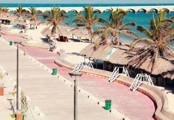 El tren maya llegaría hasta el puerto de Progreso. (Archivo/Novedades Yucatán)