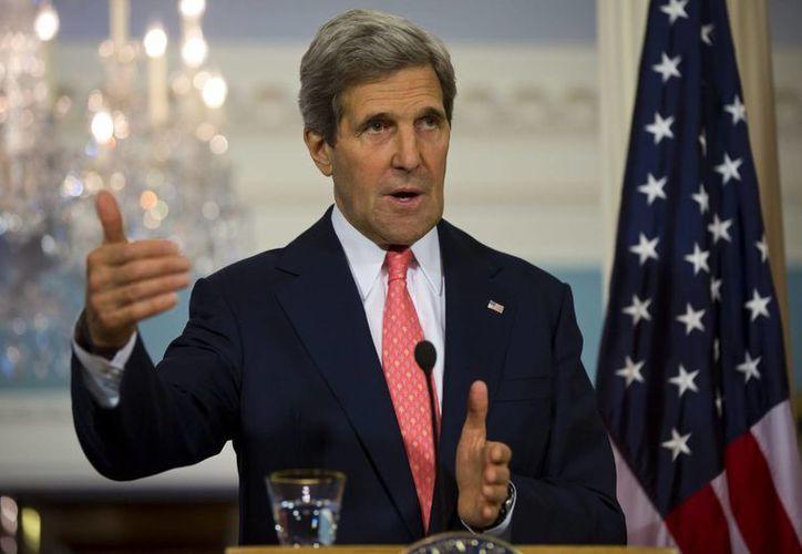 John Kerry confía en que la coalición internacional contra el régimen sirio irá creciendo a medida que se vayan conociendo más evidencias del ataque con armas químicas. (EFE)