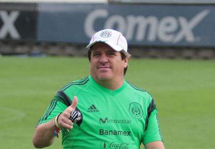 El 'Piojo' Herrera dice que él busca el triunfo a como dé lugar. (SIPSE)