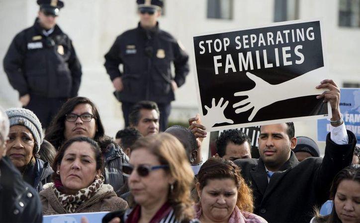La demanda de Martín Batalla es la única esperanza para salvar el alivio migratorio propuesta por el presidente Barack Obama desde 2014. (AP/Archivo)