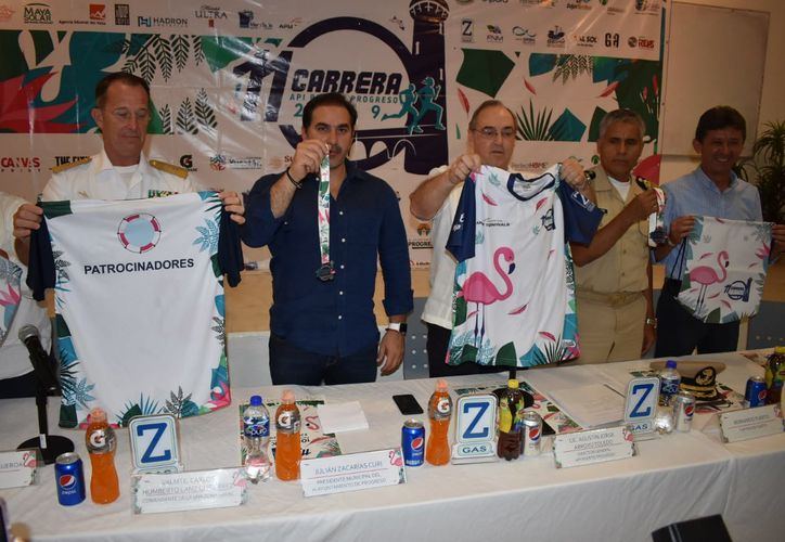 Se espera que en la carrera, que se llevará a cabo el 14 de julio, participen unos dos mil 800 atletas(Foto:Gerardo Keb/Novedades Yucatán)