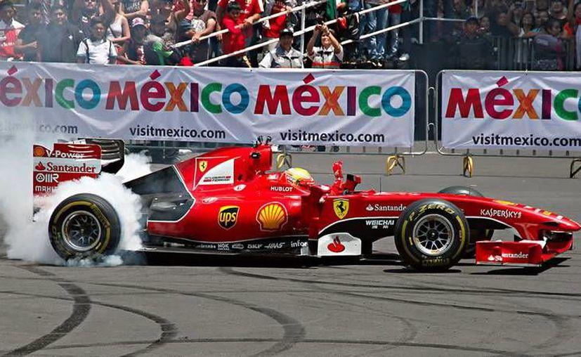 El Gran Premio de México se correrá el próximo domingo 30 de octubre, a las 13:00 horas, en el Hermanos Rodríguez. Este viernes dieron inicio las prácticas. (Notimex)
