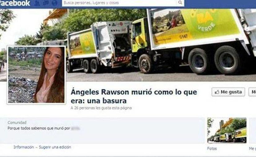 Cerraron la página en Facebook, pero abrieron una investigación. (RT)