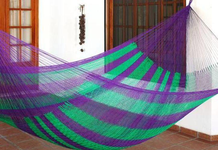La hamaca es un producto que se usa desde tiempos ancestrales en Yucatán. (artemayab.com)