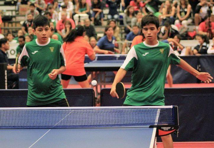 La delegación yucateca de tenis de mesa destacó en Olimpiada Nacional 2016, en Querétaro. (Milenio Novedades)