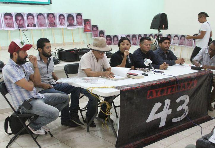 El estado es la tercera entidad sede que abraza la lucha y se solidariza con los padres de los desaparecidos. (Joel Zamora/SIPSE)