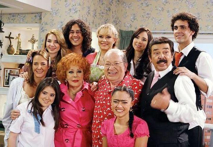 El programa 'Una familia de 10' fue lanzado en el año 2007, teniendo una gran aceptación por parte del público mexicano.(Foto tomada de Milenio Digital)