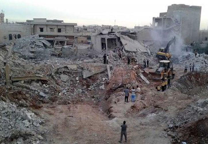 Moumtzis hizo los comentarios tres días después de un ataque aéreo en la aldea noroccidental de Zardana. (Excélsior)