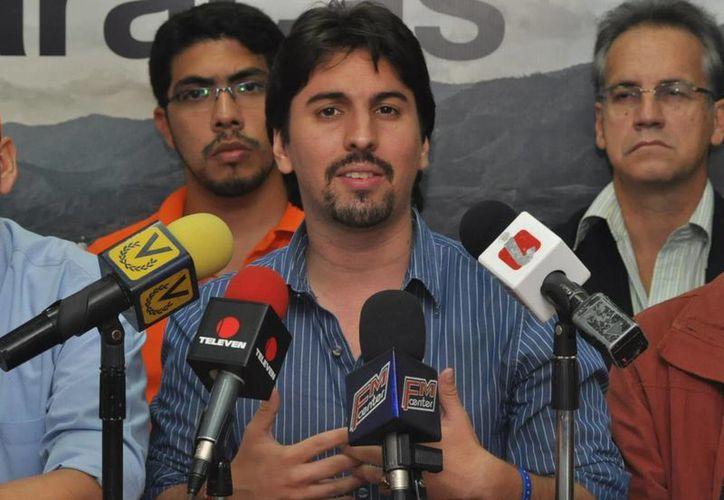Freddy Guevara dijo que los medios en Venezuela tiene prohibido difundir imágenes de las protestas. (freddyguevara.com.ve)