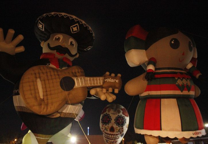 Una de las principales atracciones de este sábado fue el show de globos. (Foto: Cortesía)