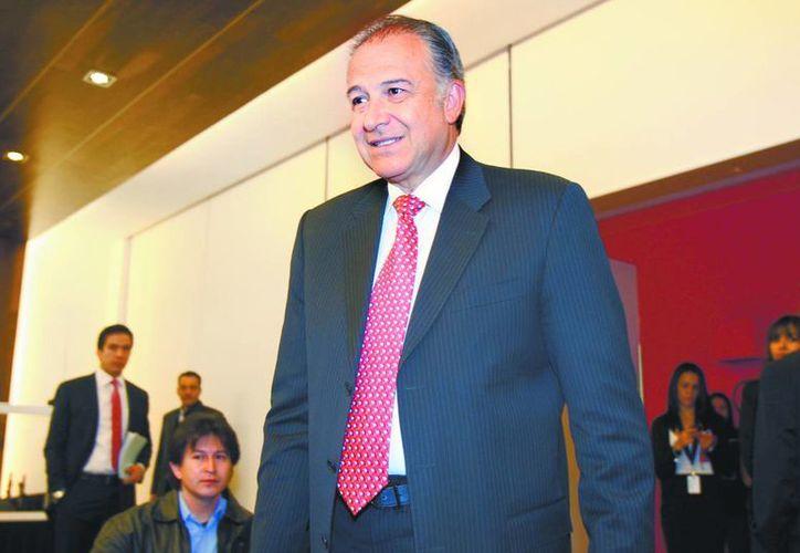 Óscar Naranjo es asesor externo en materia de seguridad del presidente Enrique Peña Nieto. (René Soto/Milenio)