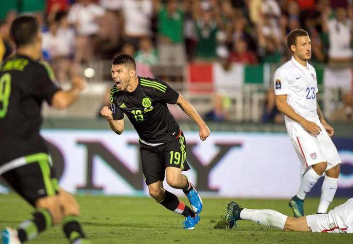 El último partido entre México y Estados Unidos, favoreció al equipo mexicano que era dirigido por Ricardo Ferretti.(Foto tomada de Mediotiempo)