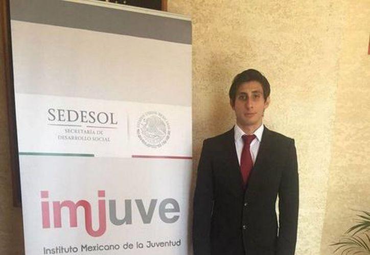 """Jordan Polanco de Benito Juárez, participó en la categoría """"C"""" (19-24 años); obtuvo el tercer lugar en su categoría. (Redacción/SIPSE)"""