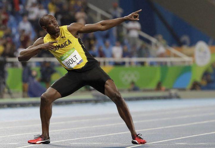El Jamaicano Usain Bolt hizo historia tras conquistar un total de nueve medallas de Oro, entre los Juegos Olímpicos de Beijing 2008, Londres 2012 y Río de Janeiro 2016. (Jon Super/AP)