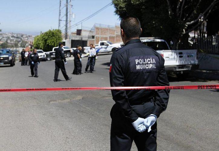 Un 39 por ciento de la población encuestada manifestó que el principal problema de México es la inseguridad. (Archivo/Notimex)