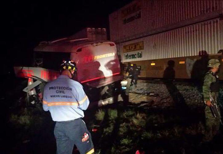 Se indicó que el autobús salió de la ciudad de Nuevo Laredo, Tamaulipas, y se dirigía a Nueva Rosita, Coahuila. (Excélsior)