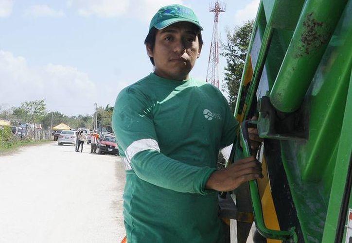 La empresa PASA promueve la sustentabilidad a través de acciones que complementan la recoja de residuos urbanos en la isla. (Redacción/SIPSE)