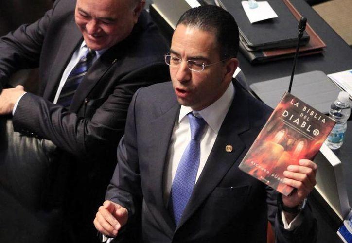 El Senado desconoció el proyecto del panista Javier Lozano. (Archivo Notimex)