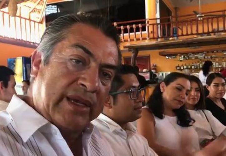 """El Bronco, se mofó de la renuncia de Margarita Zavala a la presidencia de México y reiteró que él no se """"bajará del caballo"""". (Milenio)"""
