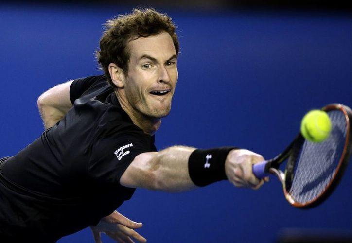 Una vez se estampó Andy Murray contra Roger Federer en el Abierto de Australia, y una contra Novak Djokovic. Esta es su cuarta oportunidad. (Foto: AP)