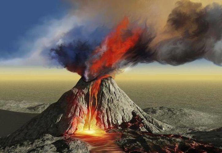 En El Salvador se produjo hace mil 500 años una super erupción volcánica que está relacionada con el declive del imperio maya. (static.vix.com)