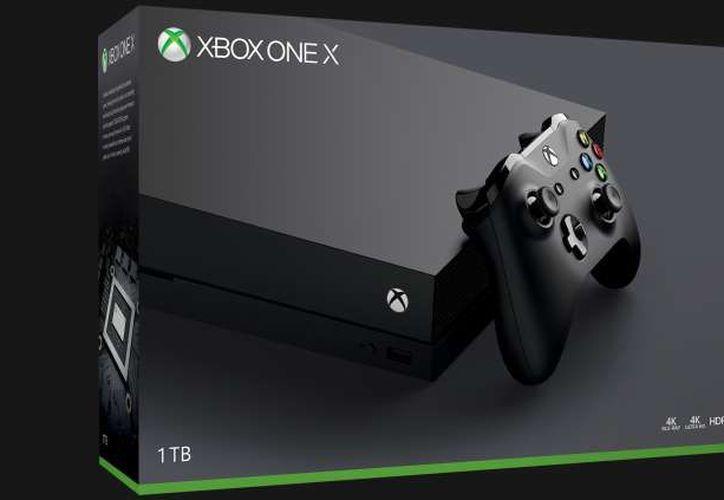 Xbox One X debutará el 7 de noviembre y costará $499 USD. (Foto: Contexto/Internet)