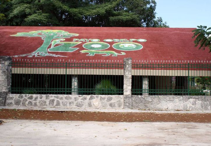 """La entrega-recepción de la administración del parque """"Payo Obispo Zoo"""" no se ha llevado a cabo conforme marca el reglamento interno del Ayuntamiento othonense. (Francisco Sansores/SIPSE)"""