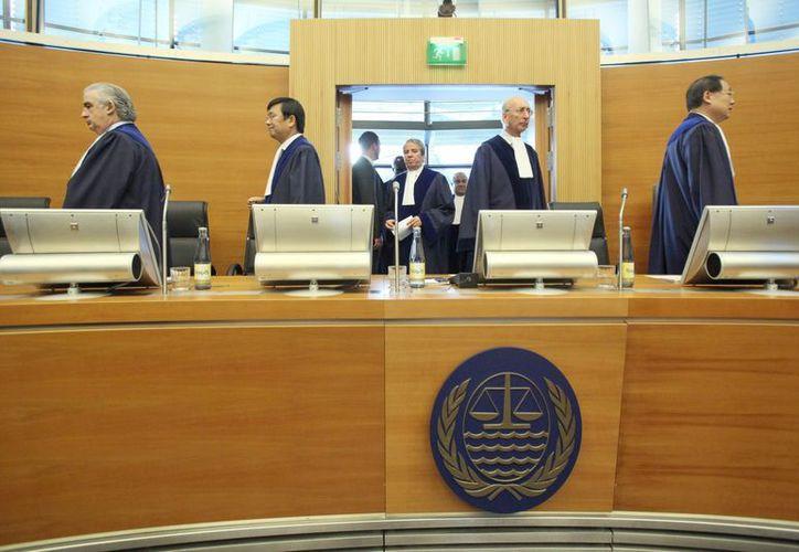 Los jueces del Tribunal del Mar resolvieron en tiempo récord un juicio ordinario. (EFE)