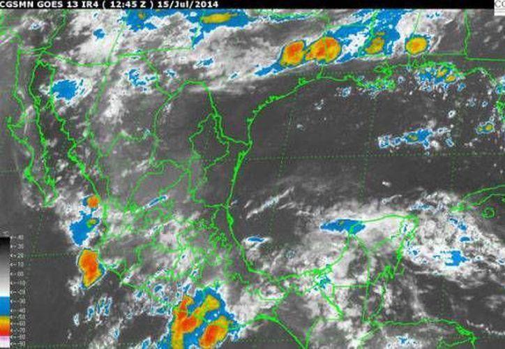 Las condiciones climatológicas serán generadas por la onda tropical número 13. (Redacción/SIPSE)
