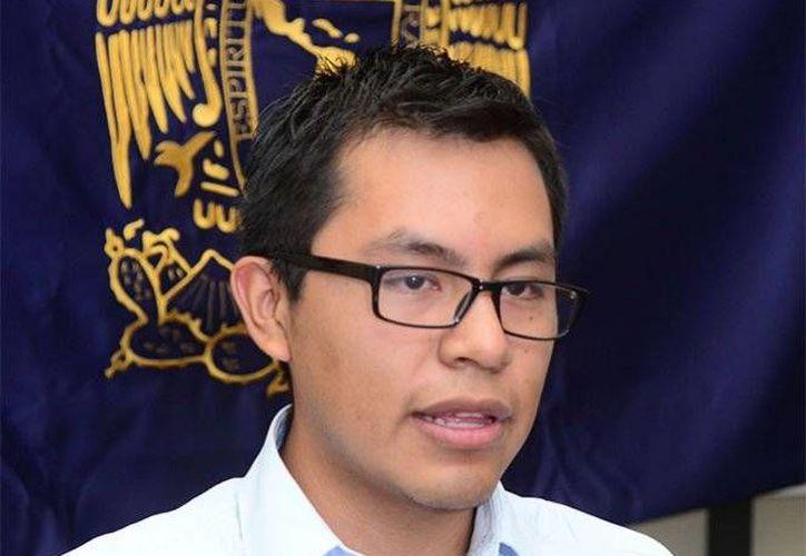 Dante Hernández Ruiz es uno de los representantes de México el mundial del Geosciences Challenge Bowld 2016. (UNAM)