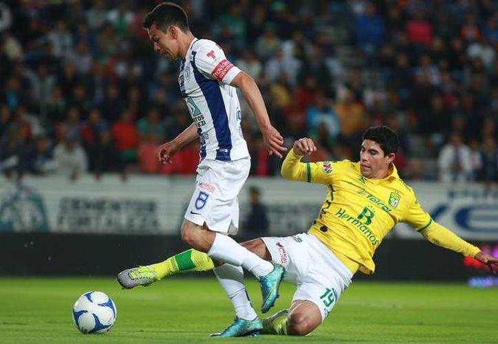 El Pachuca mantiene viva sus esperanzas de Liguilla luego de que este sábado derrotara al León, 3-2, en el estadio Hidalgo durante la jornada 16 de la Liga MX. (Femexfut)