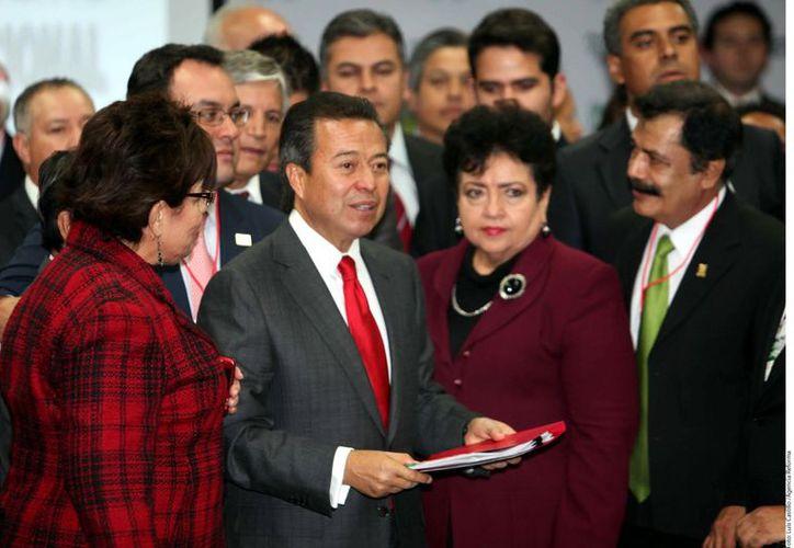 Camacho Quiroz fue candidato único. (Agencia Reforma)