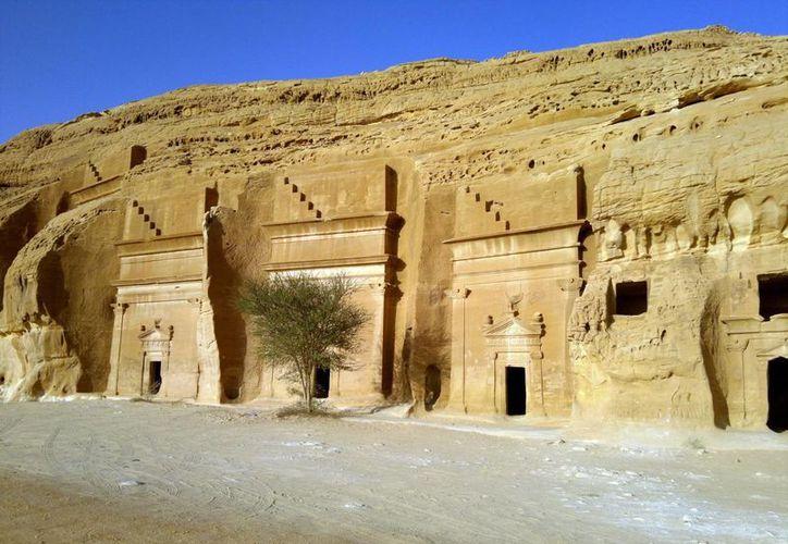 """El acceso a """"Las ciudades de Saleh"""" estuvo prohibido casi un siglo por motivos religiosos. (EFE)"""