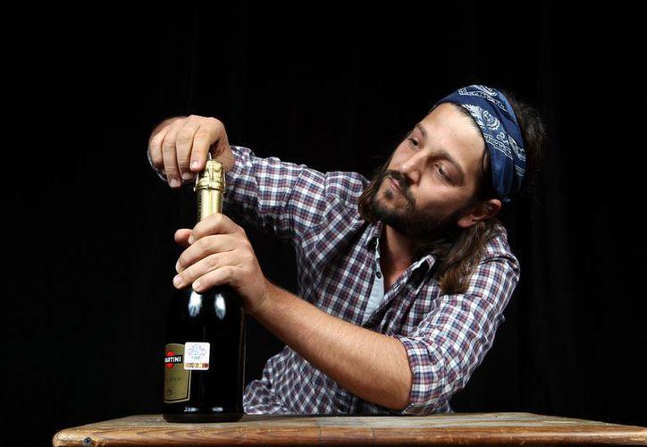 El actor celebra todo lo bueno que le ha dejado este año y desea que 2013 esté lleno de buenas cosas. (Agencia Reforma)