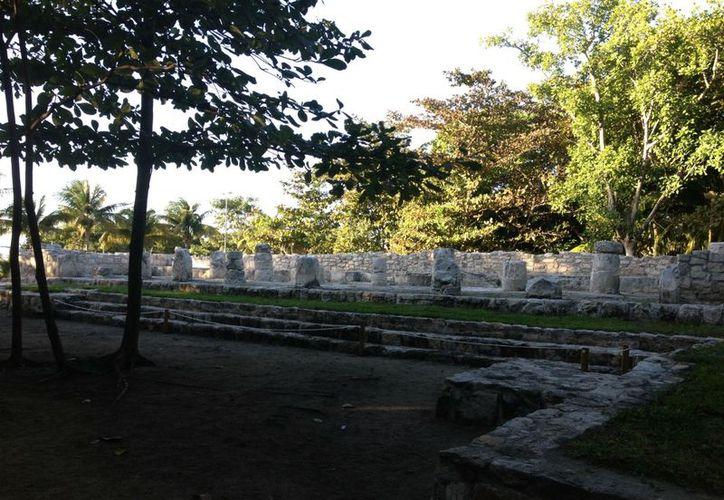 Los vestigios arqueológicos de San Miguelito se encuentra en su interior. (Elvira Espinosa/SIPSE)