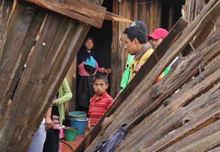 El director de Comunicación Social de San Cristóbal de las Casas, Jorge Alejandro Pinto, informó que tornado, acompañado de una granizada, dejó 91 viviendas afectadas en este municipio(Notimex)