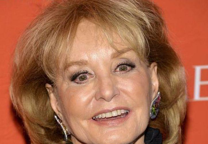 Barbara Walters fue una de las pioneras de la televisión norteamericana. (EFE)