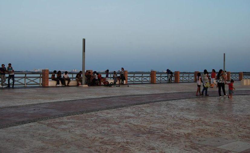 La rampa se construirá en Malecón Tajamar. (Israel Leal/SIPSE)