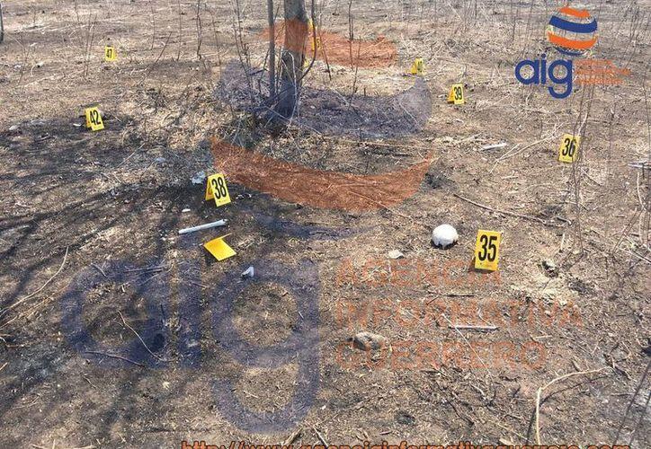 Se encontraron fragmentos de cráneo, mandíbulas, huesos, tibia y dientes. (agenciainformativaguerrero.com)
