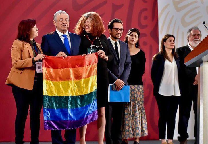 AMLO indicó que uno de los compromisos de su gobierno es representar a todos los mexicanos. (Foto/ Notimex)