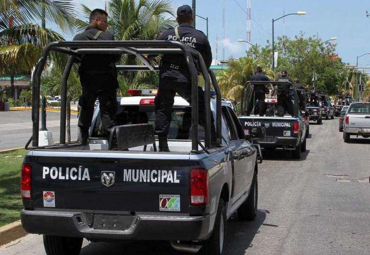 Las patrullas en Cancún serán monitoreadas con sistemas GPS. (Contexto/SIPSE)
