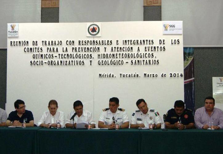Imagen de la reunión de trabajo con los responsables e integrantes de los cuatro comités. (Cortesía)