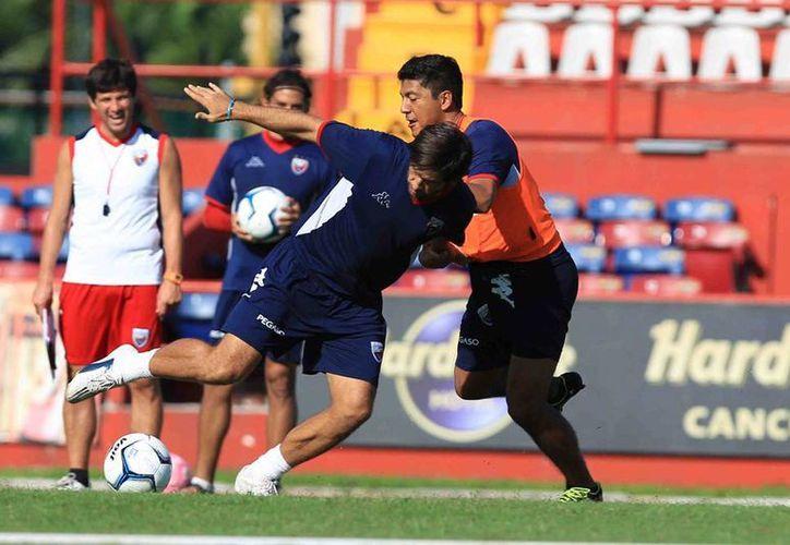 El equipo azulgrana se prepara para enfrentarse a Xolos de Tijuana. (Ángel Mazariego/SIPSE)