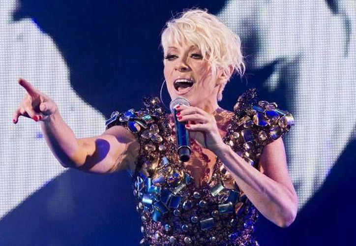 La cantante se presentará el 8 de febrero en Cozumel. (entretenimiento.starmedia.com)