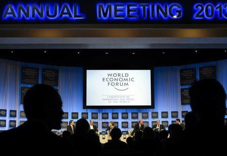 La aprobación de las Reformas Energética, Hacendaria y otras han causado sensación en diversas partes del mundo. En la foto, el Foro de Davos en 2013. (Agencias/Foto de archivo)