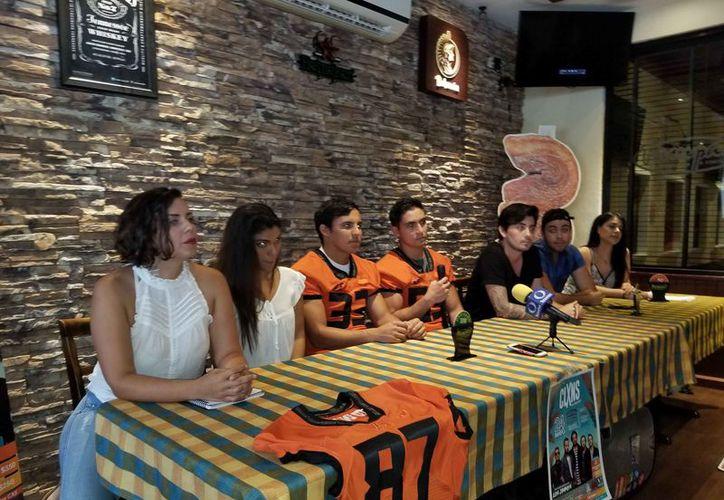Indicaron que el evento será a beneficio del equipo de fútbol americano Leones Anáhuac. (Jocelyn Díaz/SIPSE)