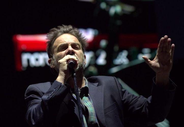 Vicentico fue uno de los artistas más esperados en la décimo séptima edición del Festival Vive Latino.(Notimex)